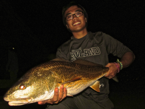 4-15 Andrew 33 5 redfish  -PERSONAL RECORD-