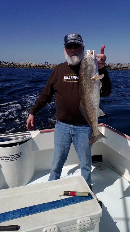 CaptLarryMartinSportfishingChartersRedfish