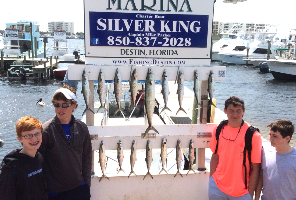 April fishing forecast for Panama city beach pier fishing report